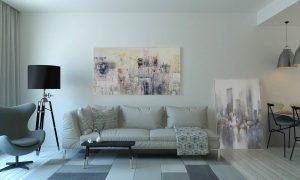Få ett rum att kännas större med canvas